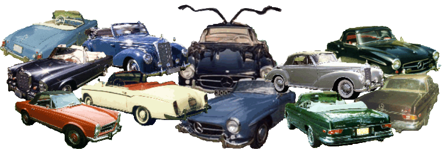 Classic, Collectible Mercedes Benz Cabriolets, Coupes and SL's